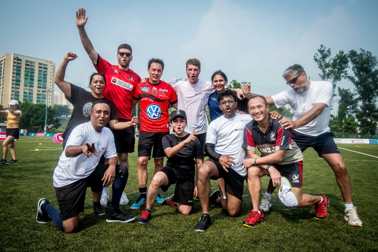 Societe Generale Touch Rugby Charity Tournment Hong Kong 2019